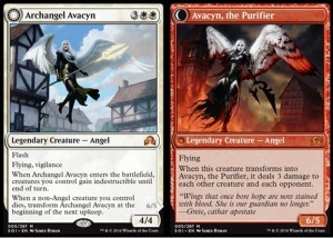 Archangel Avacyn / Avacyn, the Purifier (Shadows over Innistrad)