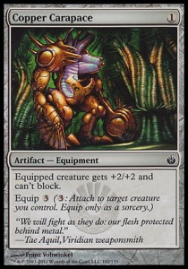 Copper Carapace (Mirrodin Besieged)