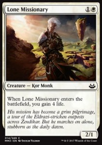 Lone Missionary (Modern Masters 2017)