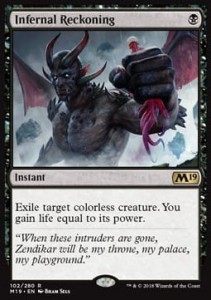 Infernal Reckoning (M19 Core Set)