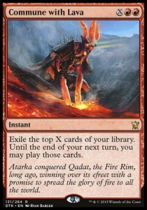 Commune with Lava (Dragons of Tarkir)