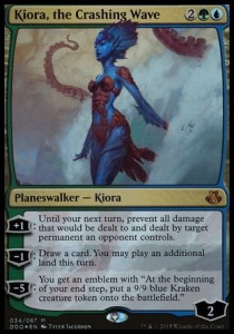 Kiora, the Crashing Wave - FOIL (DD: Elspeth vs Kiora)