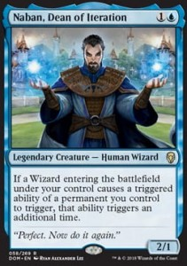 Naban, Dean of Iteration (Dominaria)