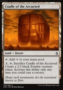 Cradle of the Accursed (Amonkhet)