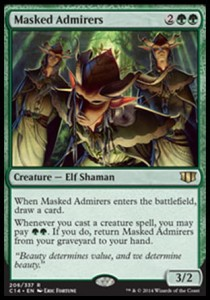 Masked Admirers (Commander 2014)