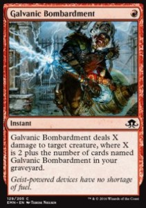 Galvanic Bombardment (Eldritch Moon)