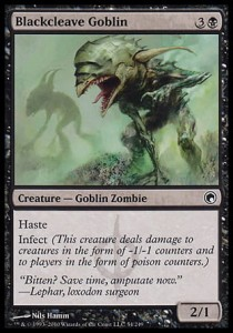 Blackcleave Goblin (Scars of Mirrodin)