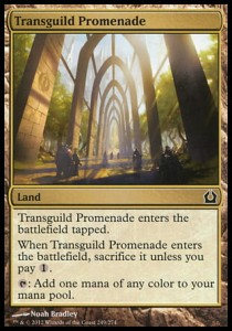 Transguild Promenade (Return to Ravnica)