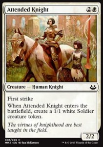 Attended Knight (Modern Masters 2017)