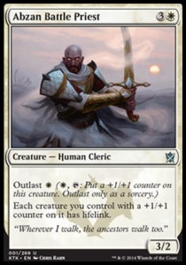 Abzan Battle Priest (Khans of Tarkir)