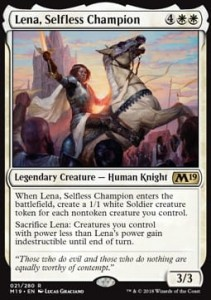 Lena, Selfless Champion (M19 Core Set)