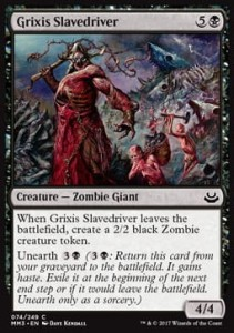 Grixis Slavedriver (Modern Masters 2017)
