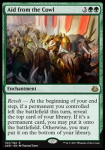 Aid from the Cowl (Aether Revolt)