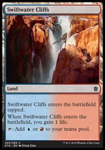 Swiftwater Cliffs (Khans of Tarkir)