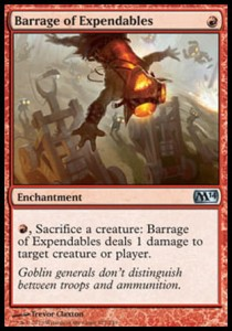 Barrage of Expendables (M14)