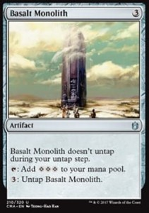 Basalt Monolith (Commander Anthology 2017)