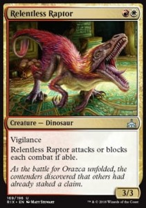 Relentless Raptor (Rivals of Ixalan)