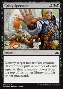 Grisly Spectacle (Modern Masters 2017)