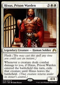 Hixus, Prison Warden (Magic Origins)