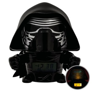 Star Wars BulbBotz Alarm Clock with Light Kylo Ren 14 cm