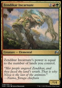 Zendikar Incarnate (Magic Origins)