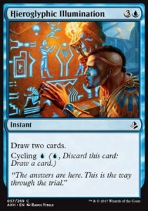 Hieroglyphic Illumination (Amonkhet)