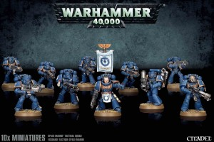 Space Marine Tactical Squad - WH 40K