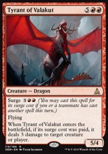 Tyrant of Valakut (Oath of the Gatewatch)