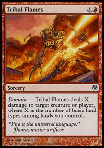 Tribal Flames (DD: Phyrexia vs. The Coalition )