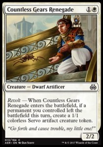 Countless Gears Renegade (Aether Revolt)