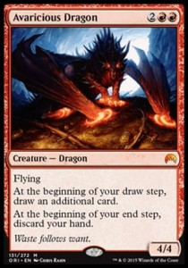Avaricious Dragon (Magic Origins)