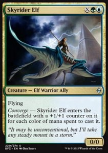 Skyrider Elf (Battle for Zendikar)