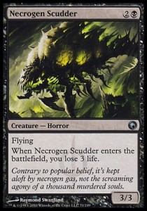 Necrogen Scudder (Scars of Mirrodin)