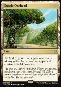 Exotic Orchard (Commander 2017)