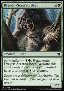 Dragon-Scarred Bear (Dragons of Tarkir)