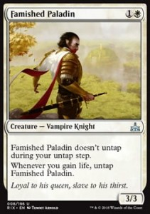 Famished Paladin (Rivals of Ixalan)