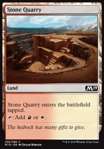 Stone Quarry (M19 Core Set)