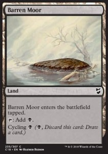 Barren Moor (Commander 2018)
