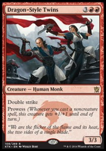 Dragon-Style Twins (Khans of Tarkir)