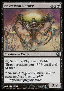 Phyrexian Defiler (DD: Phyrexia vs. The Coalition )