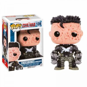 Funko POP Marvel - Crossbones Bobble Head # 139