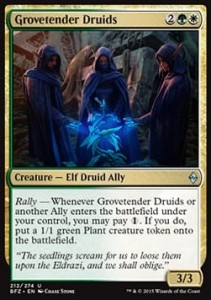 Grovetender Druids (Battle for Zendikar)