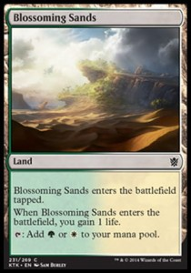 Blossoming Sands (Khans of Tarkir)