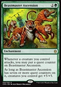 Beastmaster Ascension (Commander Anthology 2017)