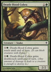 Death-Hood Cobra (New Phyrexia)