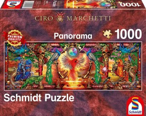 Ciro Marchetti - Kingdom of the Firebird - Puzzle 1000