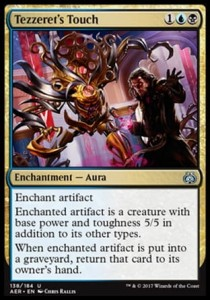 Tezzeret's Touch (Aether Revolt)