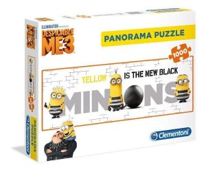 Panorama Minionki - Yellow is the New Black - Puzzle 1000