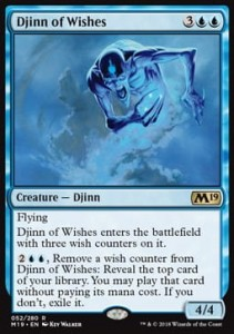 Djinn of Wishes (M19 Core Set)
