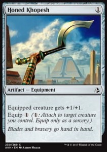 Honed Khopesh (Amonkhet)